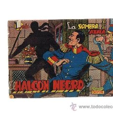 Tebeos: EL HALCÓN NEGRO Nº 8. MARCO 1959.. Lote 23595102