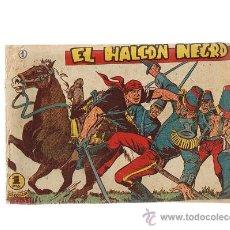 Tebeos: EL HALCÓN NEGRO Nº 1. MARCO 1959.. Lote 23595146
