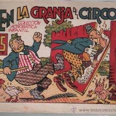 Tebeos: EN LA GRANJA DEL CIRCO.. Lote 23725073