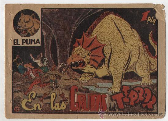 EL PUMA Nº 18: EN LAS GRUTAS DEL TERROR. (Tebeos y Comics - Marco - Otros)
