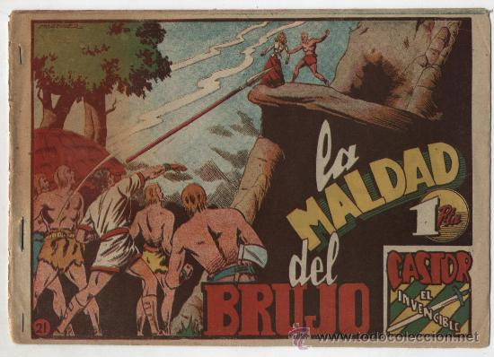 CASTOR EL INVENCIBLE Nº 21. (Tebeos y Comics - Marco - Castor el Invencible)