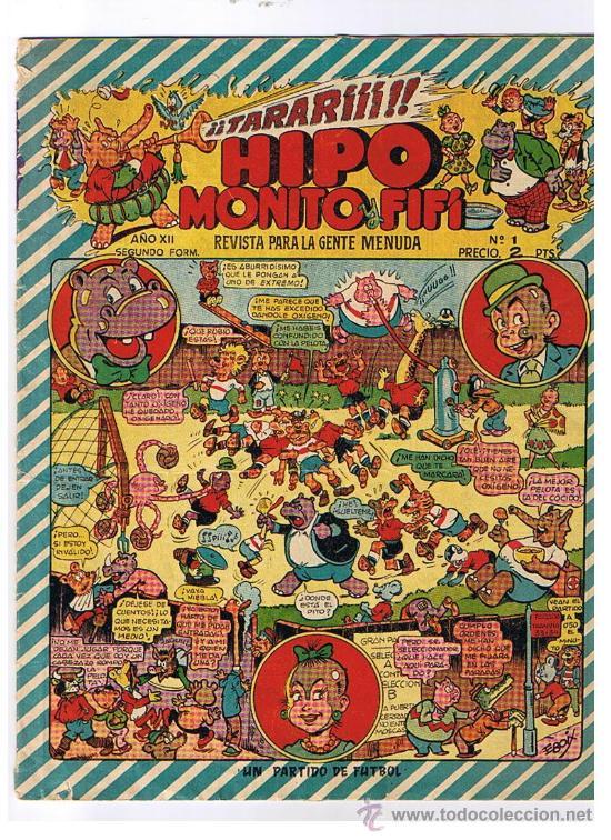HIPO,MONITO Y FIFÍ Nº 1. MARCO 1953. (Tebeos y Comics - Marco - Otros)