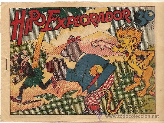 HIPO EXPLORADOR BIBLIOTECA ESPECIAL PARA NIÑOS (Tebeos y Comics - Marco - Hipo (Biblioteca especial))