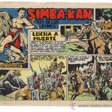 Tebeos: SIMBA KAN Nº 6. MARCO 1960.. Lote 24008357