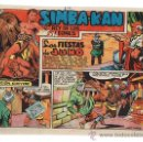 Tebeos: SIMBA KAN Nº 10. MARCO 1960.. Lote 24009408