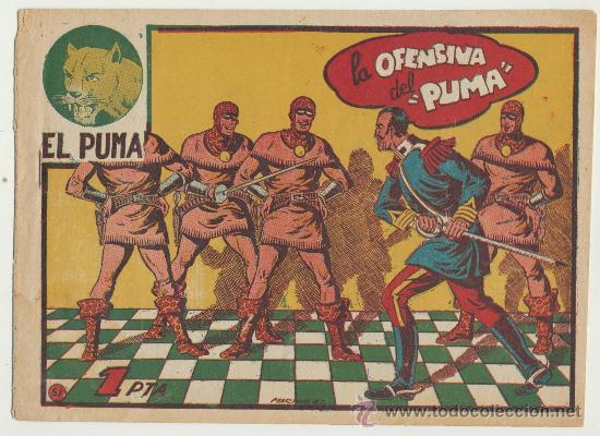 EL PUMA Nº 51. MARCO 1952. (Tebeos y Comics - Marco - Otros)