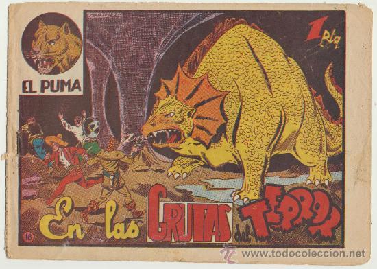 EL PUMA Nº 18. MARCO 1952. (Tebeos y Comics - Marco - Otros)