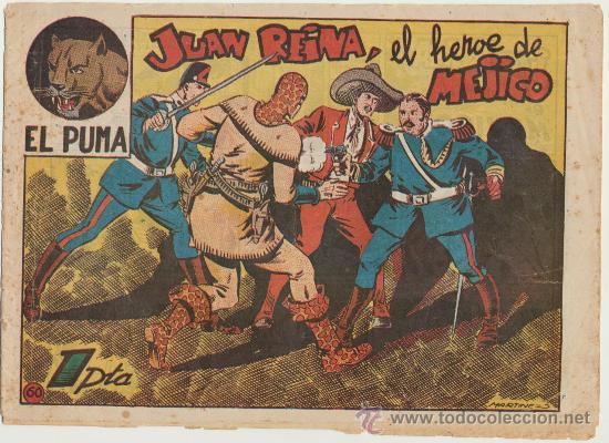 EL PUMA Nº 60. MARCO 1952. (Tebeos y Comics - Marco - Otros)