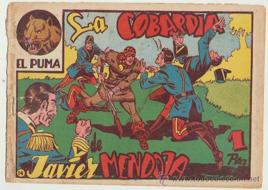 EL PUMA Nº 14. MARCO 1952. (Tebeos y Comics - Marco - Otros)