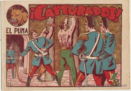 EL PUMA Nº 33. MARCO 1952. (Tebeos y Comics - Marco - Otros)