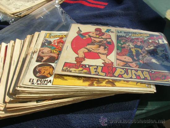 EL PUMA SEGUNDA MARTINEZ OSETE ORIGINAL COMPLETA Y SUELTA (Tebeos y Comics - Marco - Otros)