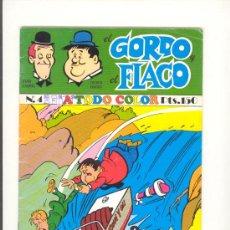 Tebeos: EL GORDO Y EL FLACO Nº4 . Lote 24612916