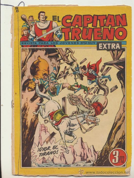 EL CAPITÁN TRUENO EXTRA Nº 161. (Tebeos y Comics - Marco - Otros)