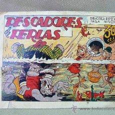 Tebeos: COMIC, ORIGINAL, BIBLIOTECA ESPECIAL PARA NIÑOS, HIPO, PESCADORES DE PERLAS, EDITORIAL MARCO. Lote 25219685