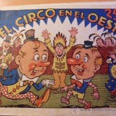 Tebeos: EL CIRCO EN EL OESTE . COLECCION ACROBATICA INFANTIL ( ORIGINAL ED. MARCO 25 CTS) (ES). Lote 26186626