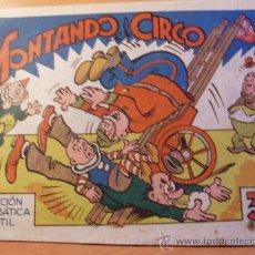 Tebeos: MONTANDO EL CIRCO . COLECCION ACROBATICA INFANTIL ( ORIGINAL ED. MARCO 30 CTS) (ES). Lote 26186646