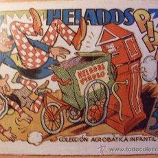 Tebeos: HELADOS PIRULO . COLECCION ACROBATICA INFANTIL ( ORIGINAL ED. MARCO 30 CTS) (ES). Lote 26186663