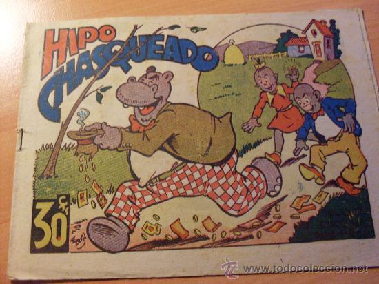 HIPO BIBLIOTECA ESPECIAL PARA NIÑOS . CHASQUEADO ( ORIGINAL ED. MARCO ) ( ES ) (Tebeos y Comics - Marco - Hipo (Biblioteca especial))
