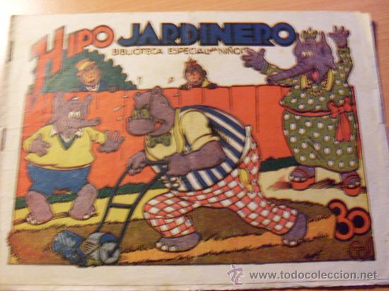 HIPO BIBLIOTECA ESPECIAL PARA NIÑOS .HIPO JARDINERO ( ORIGINAL ED. MARCO ) ( ES ) (Tebeos y Comics - Marco - Hipo (Biblioteca especial))