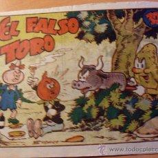 Tebeos: RABANITO Y CEBOLLITA . EL FALSO TORO . BIBLIOTECA INFANTIL ( ORIGINAL ED. MARCO 30 CTS ) ( ES ). Lote 27594960