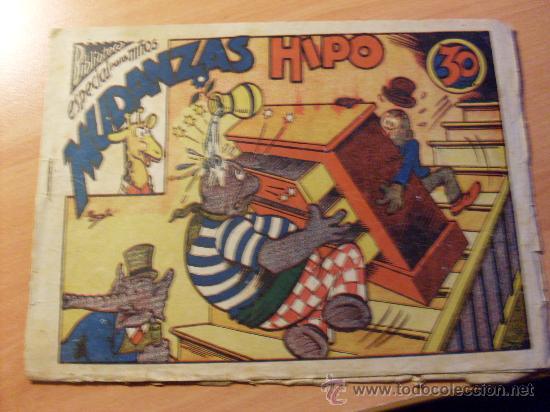 HIPO . MUDANZAS HIPO. BIBLIOTECA ESPECIAL PARA NIÑOS ( ORIGINAL ED. MARCO 30 CTS ) ( ES ) (Tebeos y Comics - Marco - Hipo (Biblioteca especial))