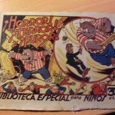 Tebeos: HIPO . HORROR TERROR FUROR . BIBLIOTECA ESPECIAL PARA NIÑOS ( ORIGINAL ED. MARCO 30 CTS ) ( ES ). Lote 26205798