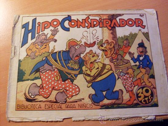 HIPO . HIPO CONSPIRADOR . BIBLIOTECA ESPECIAL PARA NIÑOS (ORIGINAL MARCO 30 CTS ) ( ES ) (Tebeos y Comics - Marco - Hipo (Biblioteca especial))
