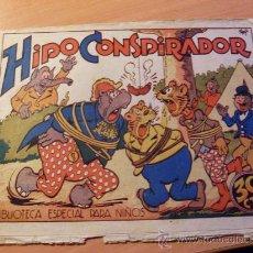 Tebeos: HIPO . HIPO CONSPIRADOR . BIBLIOTECA ESPECIAL PARA NIÑOS (ORIGINAL MARCO 30 CTS ) ( ES ). Lote 26206096
