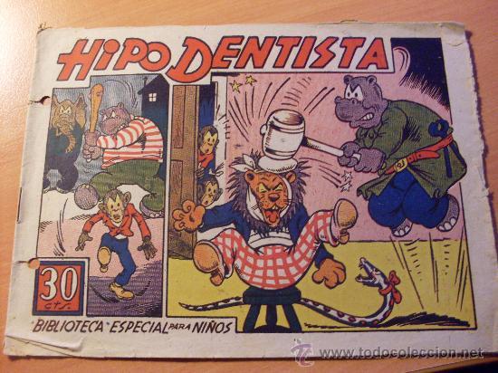 HIPO . HIPO DENTISTA . BIBLIOTECA ESPECIAL PARA NIÑOS (ORIGINAL MARCO 30 CTS ) ( ES ) (Tebeos y Comics - Marco - Hipo (Biblioteca especial))
