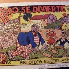 Tebeos: HIPO . HIPO SE DIVIERTE. BIBLIOTECA ESPECIAL PARA NIÑOS (ORIGINAL MARCO 30 CTS ) ( ES ). Lote 26206586