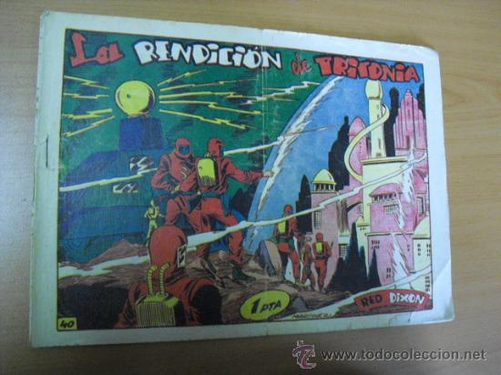 RED DIXON Nº 40 EDITORIAL MARCO (Tebeos y Comics - Marco - Red Dixon)