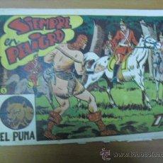 Tebeos: EL PUMA Nº 3 DE MARCO 1952 CON UN NOBRE EN LA PORTADA ESCRITO ABOLIGRAFO. Lote 27041433
