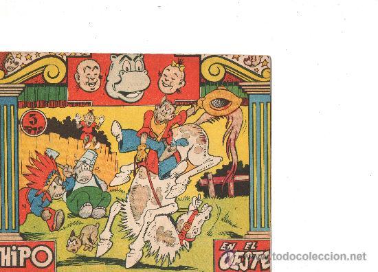 HIPO COLOR Nº EN EL OESTE DE MARCO (Tebeos y Comics - Marco - Hipo (Biblioteca especial))