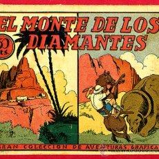 Tebeos: EL MONTE DE LOS DIAMANTES , AVENTURAS GRAFICAS , EDITORIAL MARCO , ORIGINAL , C24. Lote 27236393