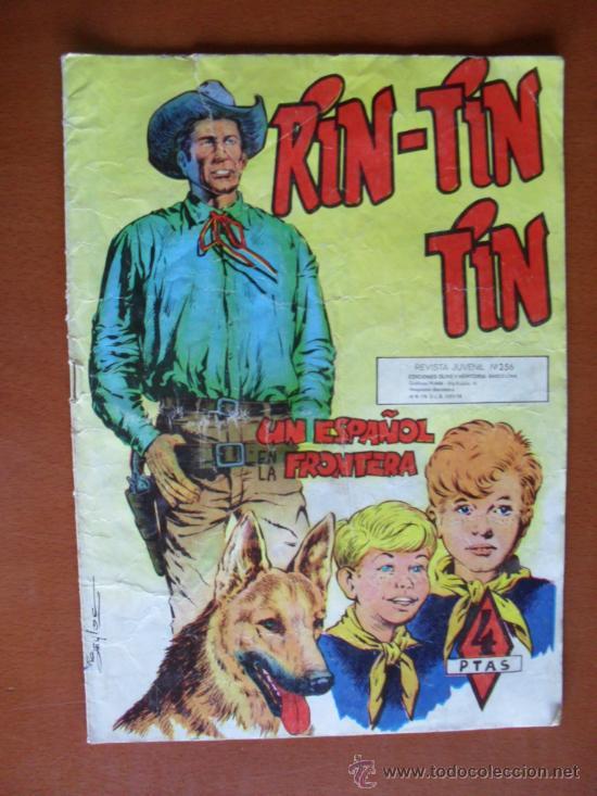 RIN-TIN-TIN Nº 256 -- MARCO 1958* C7 (Tebeos y Comics - Marco - Rin-Tin-Tin)