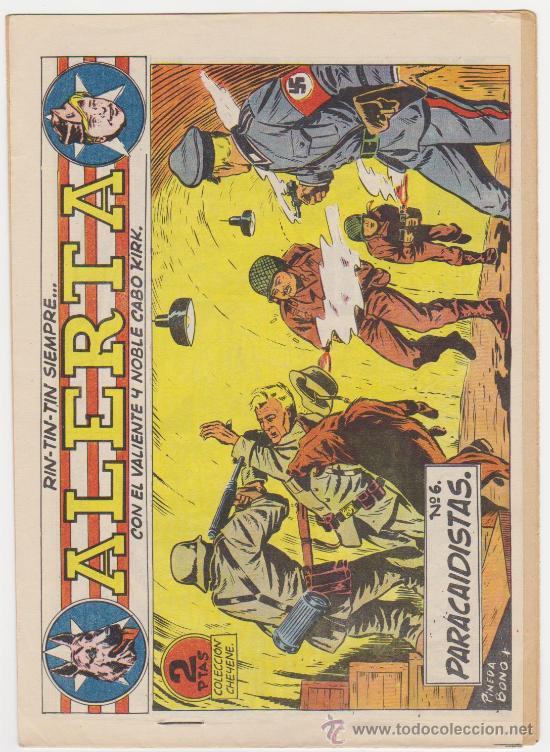 RIN TIN TIN SIEMPRE ALERTA Nº 6. MARCO 1959. (Tebeos y Comics - Marco - Rin-Tin-Tin)