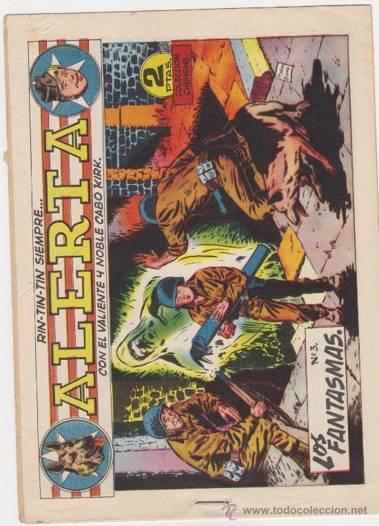 RIN TIN TIN SIEMPRE ALERTA Nº 3. MARCO 1959. (Tebeos y Comics - Marco - Rin-Tin-Tin)