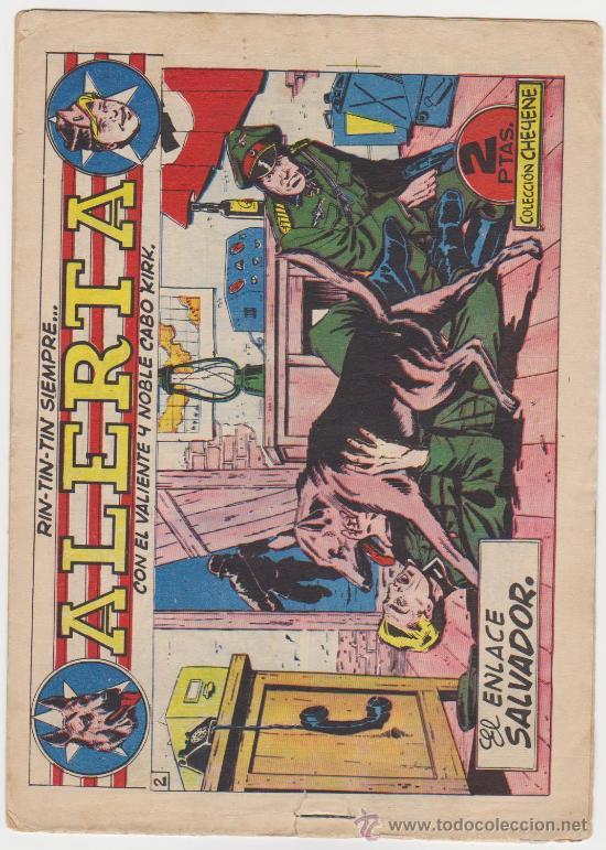 RIN TIN TIN SIEMPRE ALERTA Nº 2. MARCO 1959. (Tebeos y Comics - Marco - Rin-Tin-Tin)
