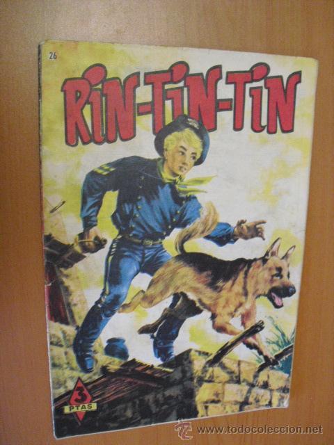 RIN-TIN-TIN Nº26 DE MARCO 1958 (Tebeos y Comics - Marco - Rin-Tin-Tin)