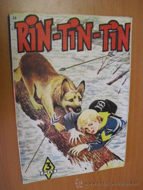 RIN-TIN-TIN Nº 36, DE MARCO 1958, (Tebeos y Comics - Marco - Rin-Tin-Tin)