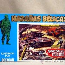 Tebeos: COMIC, HAZAÑAS BELICAS, ARROZALES DE MUERTE, MARCO IBERICA, 1973, 4 NUMEROS, Nº 153, 154, 155, 156. Lote 28686497