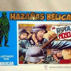 Tebeos: COMIC, HAZAÑAS BELICAS, LA RUTA DE MOSCU, MARCO IBERICA, 1973, 4 NUMEROS, Nº 133, 134, 135 Y 136,. Lote 28686531
