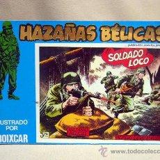 Tebeos: COMIC, HAZAÑAS BELICAS, EL SOLDADO LOCO, MARCO IBERICA, 1973, 4 NUMEROS, Nº 129, 130, 131 Y 132,. Lote 28686592