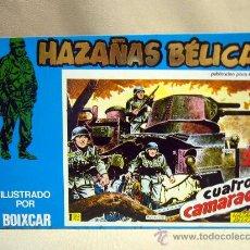 Tebeos: COMIC, HAZAÑAS BELICAS, CUATRO CAMARADAS, MARCO IBERICA, 1973, 4 NUMEROS, Nº 141, 142, 143 Y 144. Lote 28686620