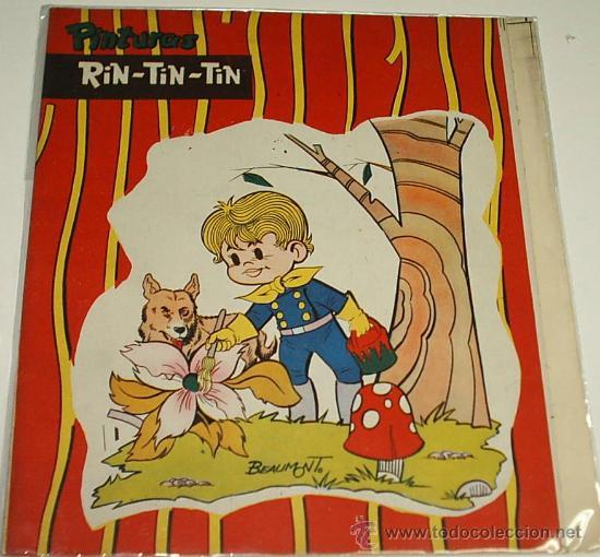 PINTURAS RIN TIN TIN GIGANTE Nº 9- BEAUMONT 1962 MARCO -PRECIOSO, SIN CORTAR - ÚNICO-LEER TODO (Tebeos y Comics - Marco - Rin-Tin-Tin)