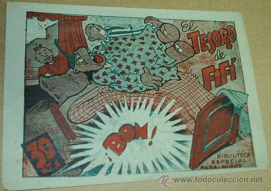 BIBLIOTECA ESPECIAL PARA NIÑOS - Nº EL TESORO DE FIFI - ORIGINAL SIN ABRIR- LEER TODO (Tebeos y Comics - Marco - Hipo (Biblioteca especial))