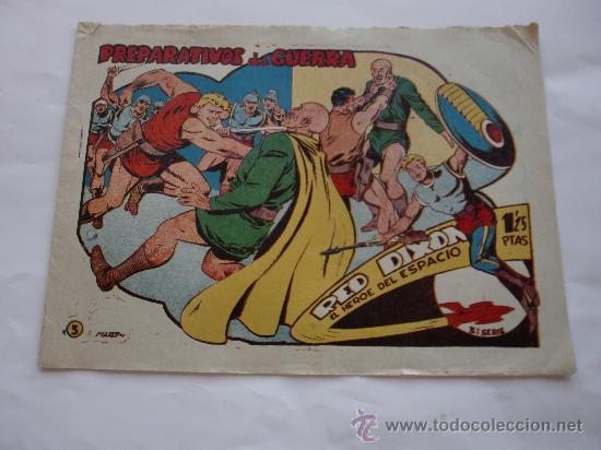 RED DIXON Nº 3 3ª SERIE ORIGINAL (Tebeos y Comics - Marco - Red Dixon)