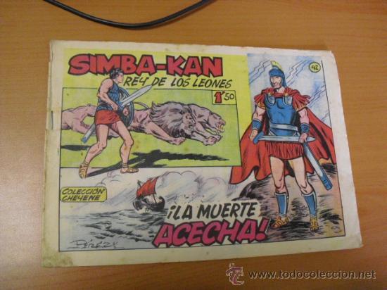 SIMBA-KAN Nº 42, DE MARCO 1959 (Tebeos y Comics - Marco - Otros)