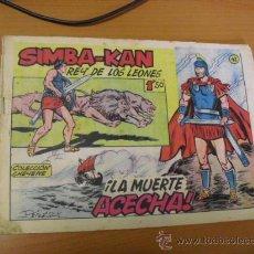 Tebeos: SIMBA-KAN Nº 42, DE MARCO 1959. Lote 30817626