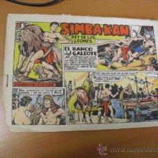 Tebeos: SIMBA-KAN Nº5 DE MARCO 1959. Lote 30817654